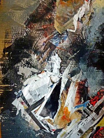 """Danièle Grabit """"Palimpseste 3"""""""
