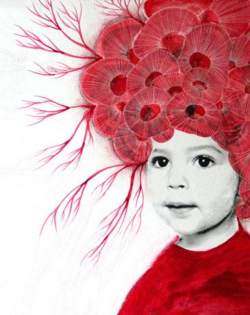 """Elodie Tribut """"Les fleurs de l'amour"""""""